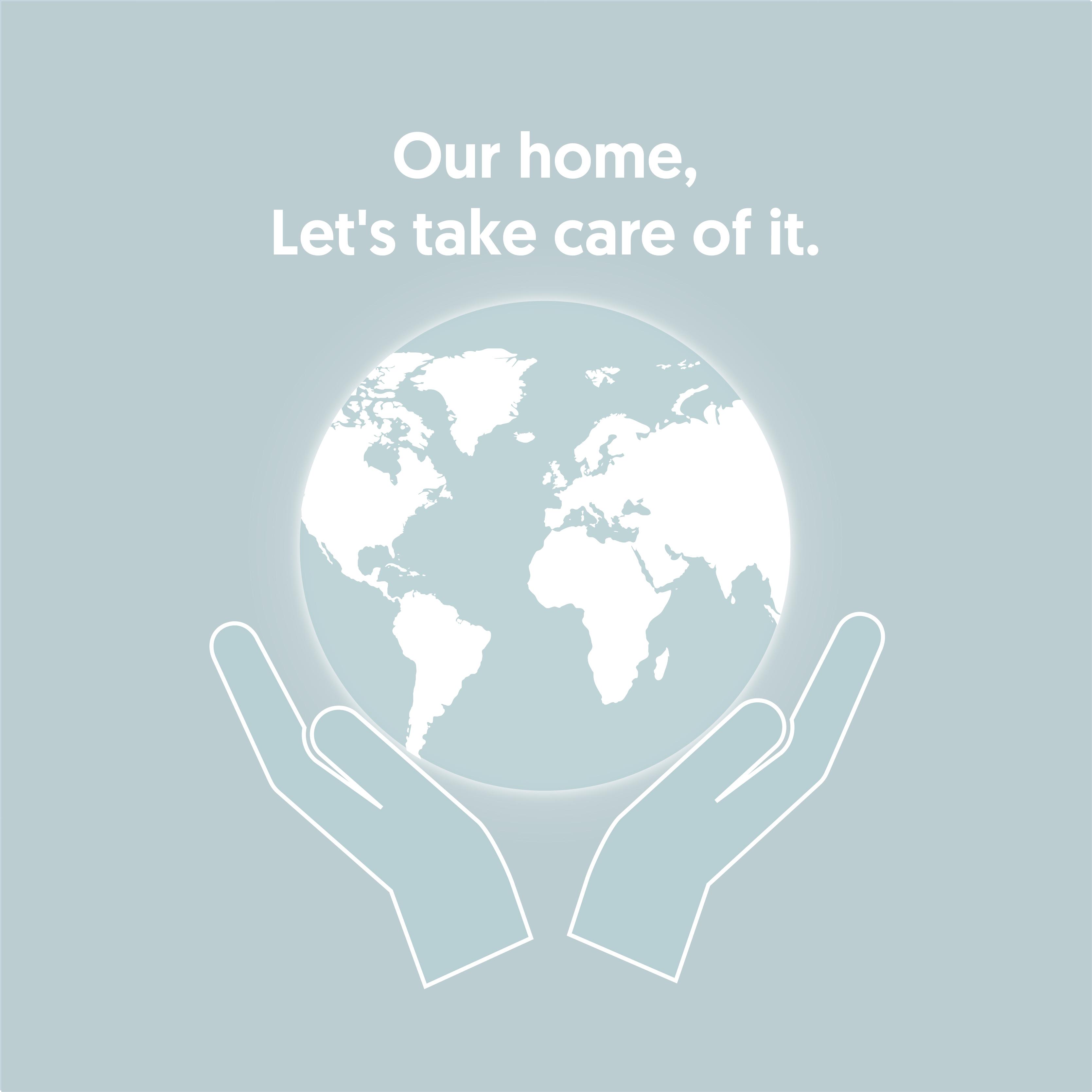let's take care of the planet escandinava de electricidad