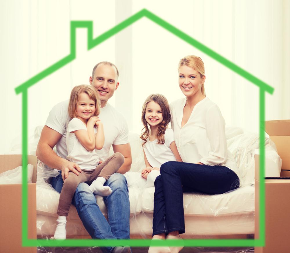 casa ecológica con energía verde