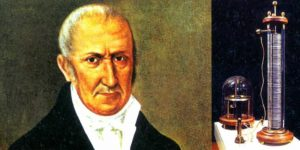 Alessandro Volta, inventor