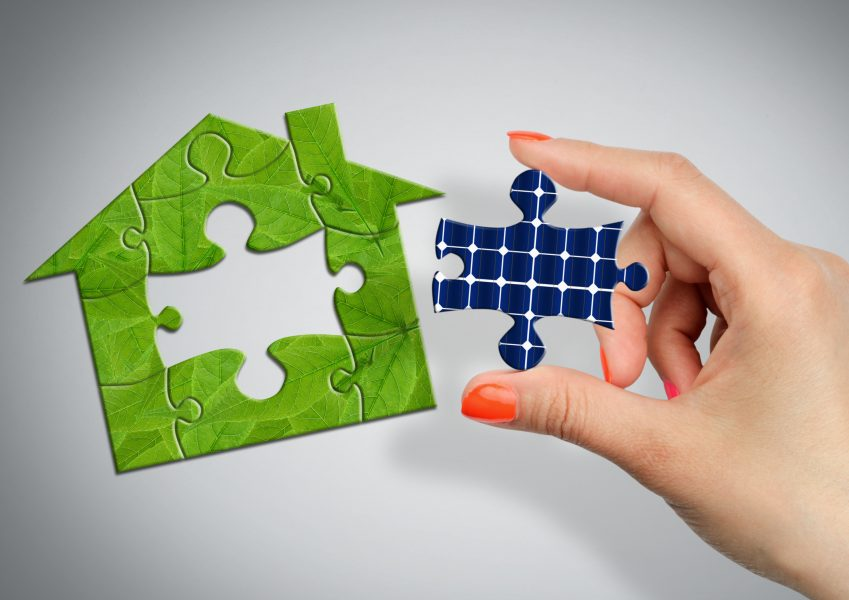 puzzle energía renovable
