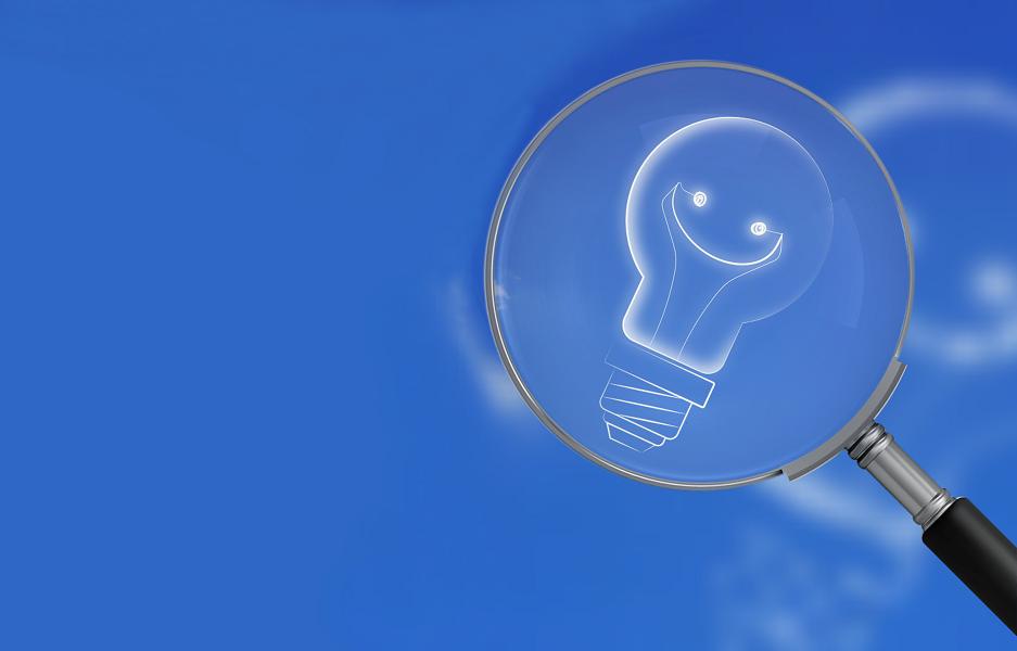 mirar con lupa los servicios de mantenimiento en la factura de la luz