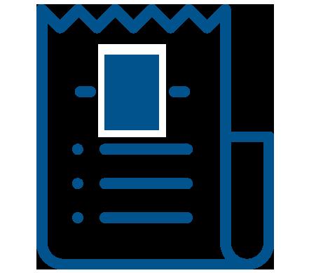 Icono factura