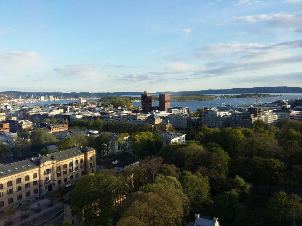 Oslo ciudades verdes