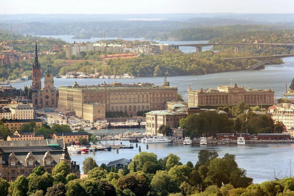 Estocolmo ciudades verdes