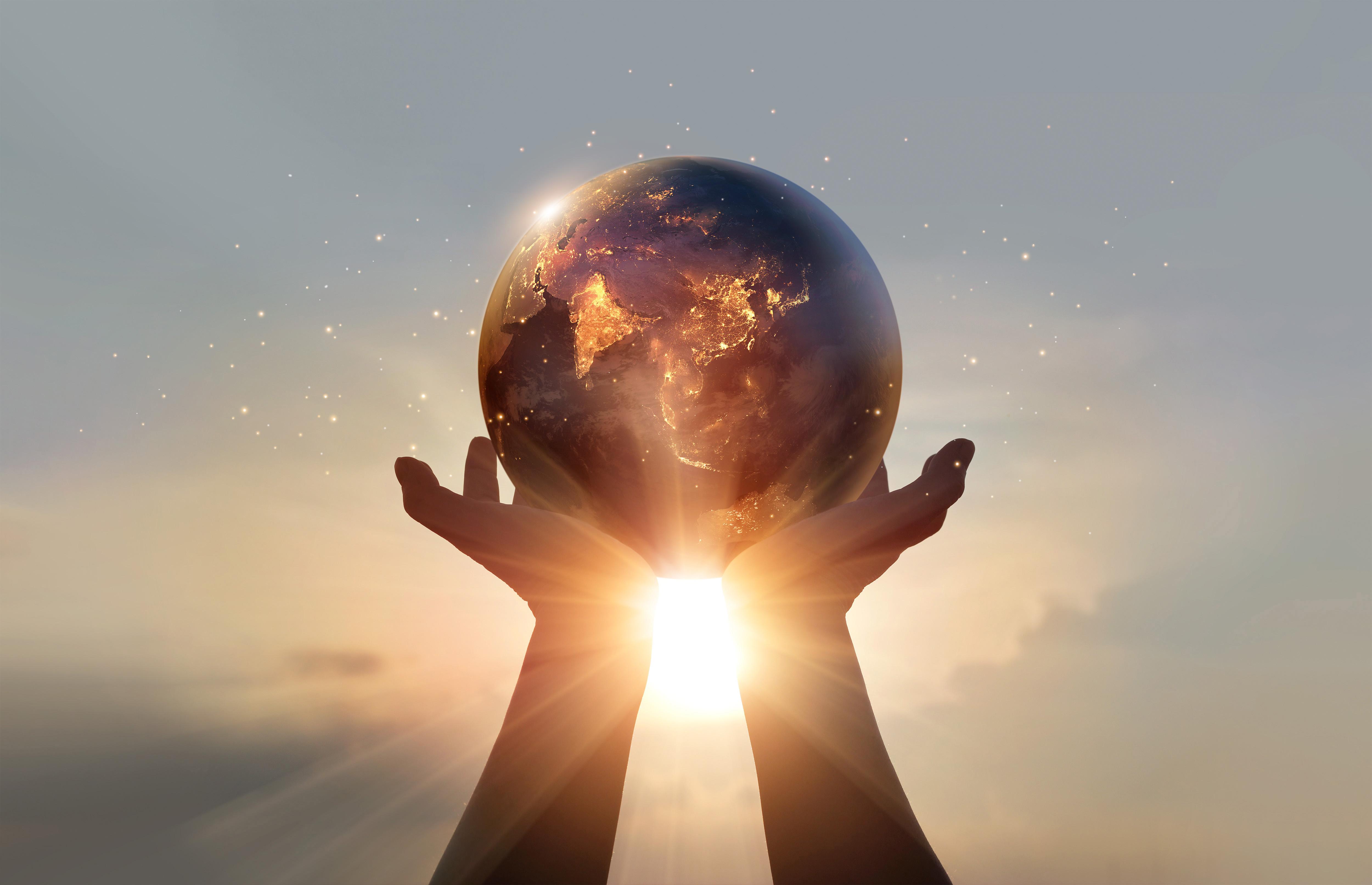 energía renovable para cuidar el planeta