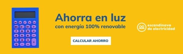Calcula tu ahorro con Escandinava de electricidad 7